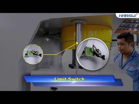 Y41 100T single column hydraulic press machine, C Frame type hydraulic punching machine