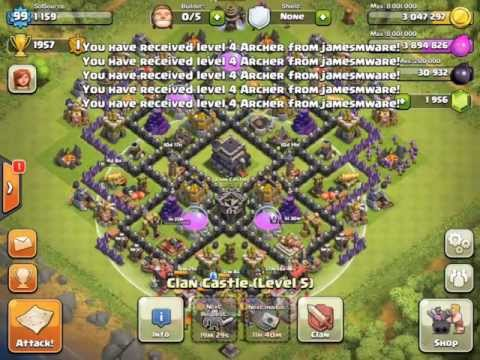 Coc th9 attack berilmu net