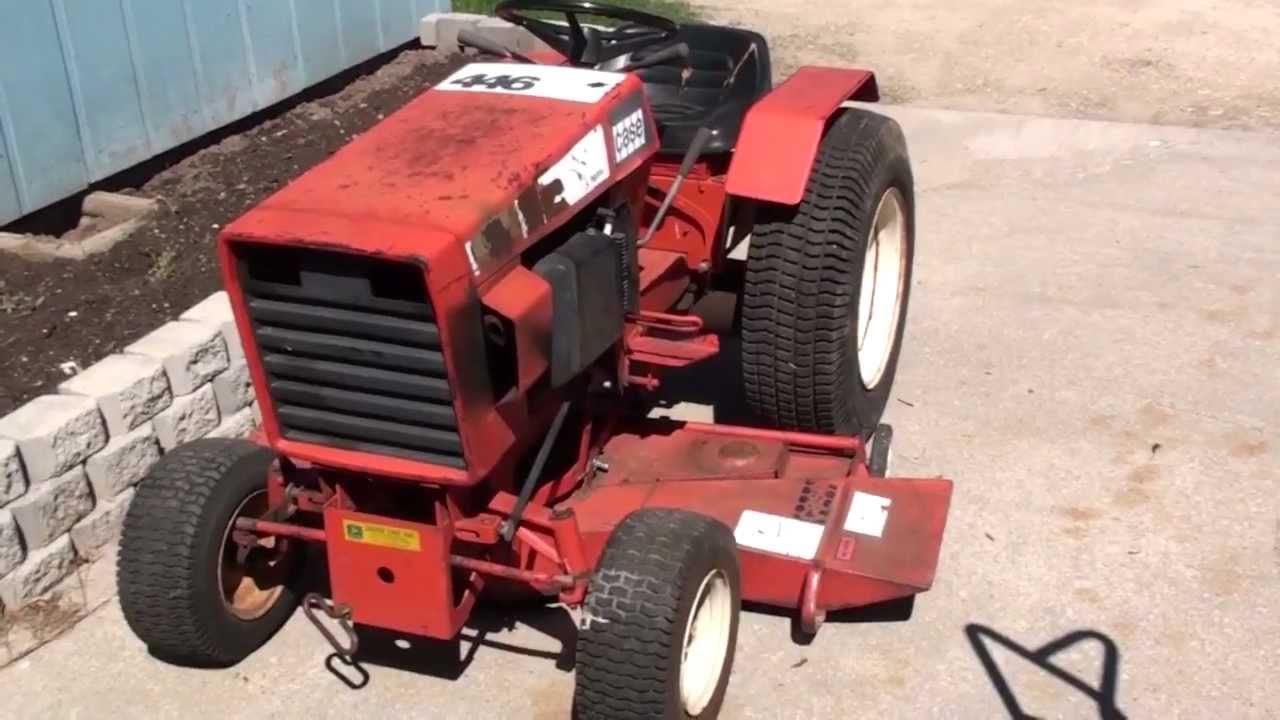 Case 446 Parts : Case restoration part youtube