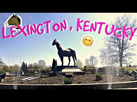 LEXINGTON, KENTUCKY!    ROAD TRIP ACROSS AMERICA VLOG