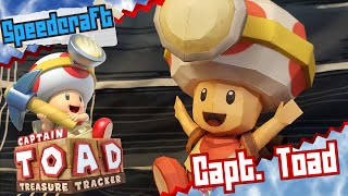 Captain Toad: Treasure Tracker Papercraft ~ Capt.Toad ~