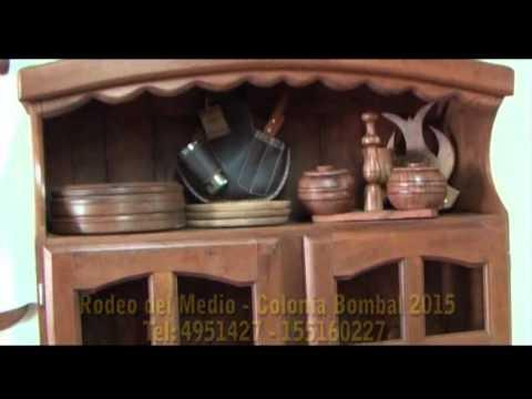 Hecho en Mendoza - FLA-IND Muebles y abertira de algarrobo - Alberto Azcurra