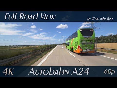 autobahn-(a24),-germany:-wittenburg---zarrentin---gallin---4k-(2160p/60p)-ultra-hd