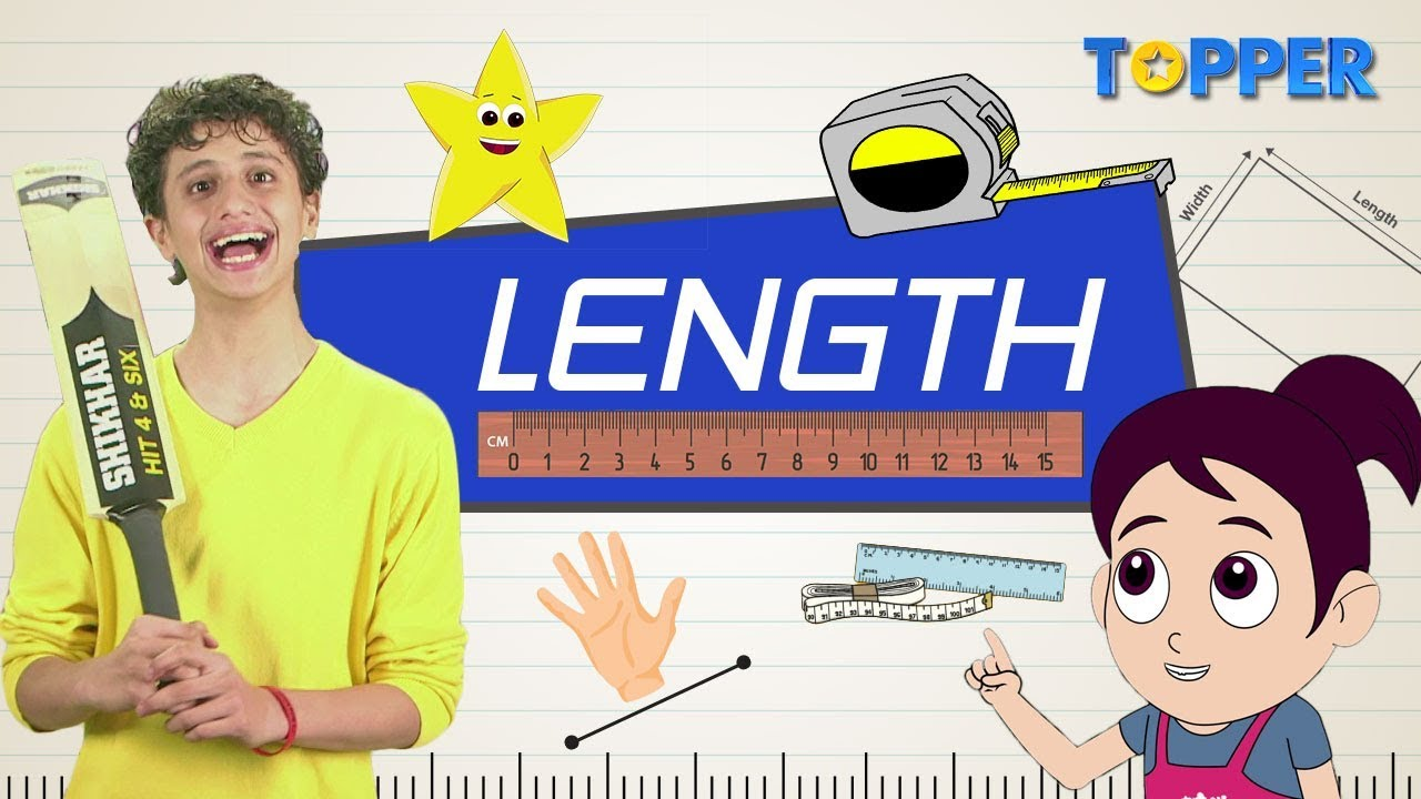 Download What is Length?| How to measure Length using Body Parts | Standard units of Lengths | Class 1 to 5 |
