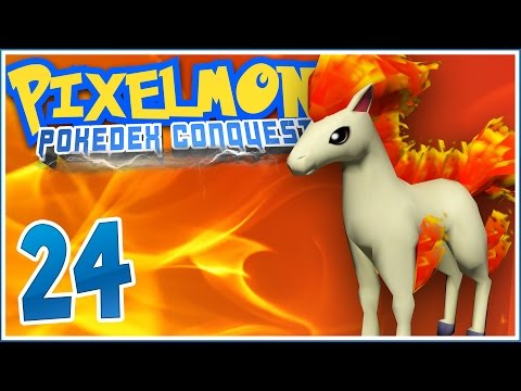Minecraft Pixelmon PokéDex Conquest [Ep.24] - Photosynthesis