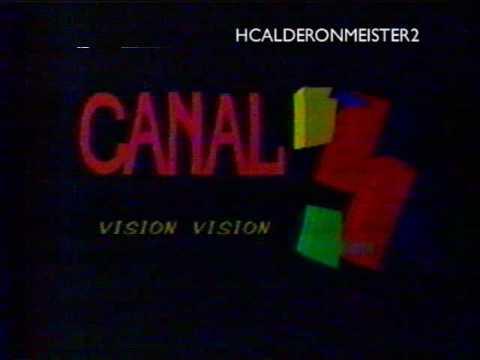 Logo Canal 3 Inravisión Colombia (1992-1995)