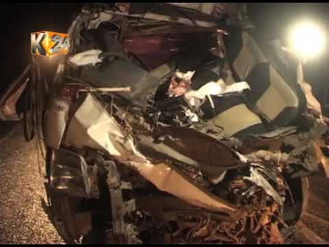 Atleast 40 people perish in the last 24hrs in various road accidents