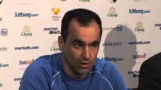 Roberto Martinez delighted at Leighton Baines signing a new Everton FC contract