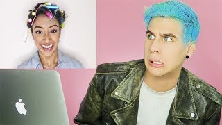 HAIRDRESSER REACTS TO LIZA KOSHY HAIR HACKS! | bradmondo