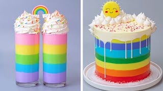 Awesome Rainbow Cake Decorating Tutorials Videos For All the Rainbow Cake Lovers  Perfect Cake