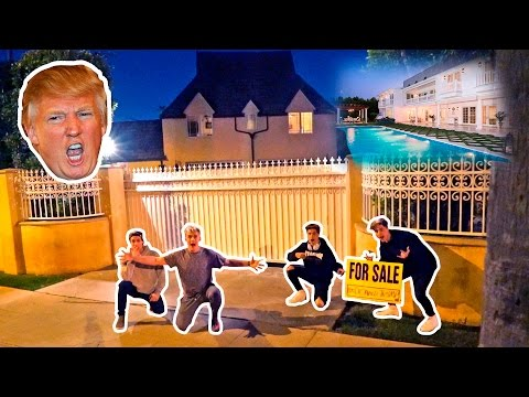 Thumbnail: I PUT DONALD TRUMPS HOUSE UP FOR SALE (PRANK)