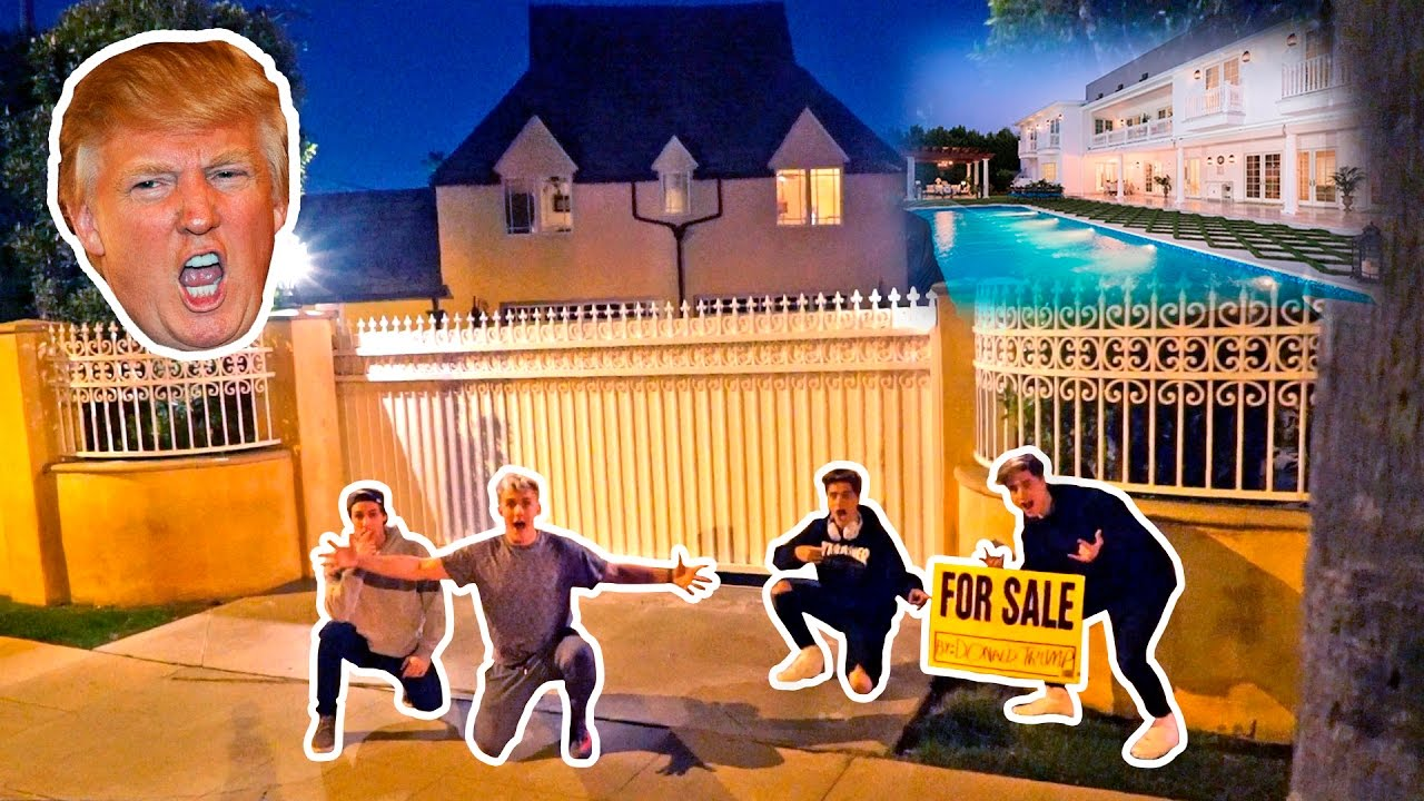 I PUT DONALD TRUMPS HOUSE UP FOR SALE (PRANK)