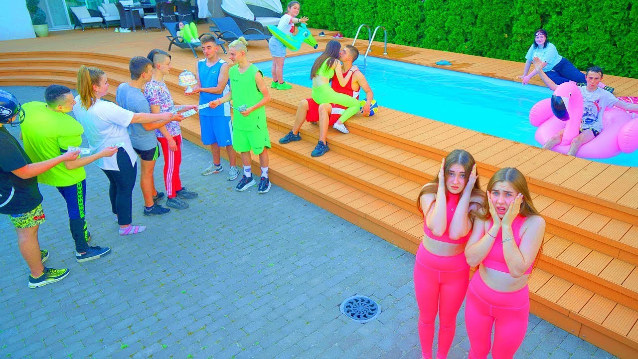 Pool parti | School students in SUMMER HOLIDAYS | Diana Series