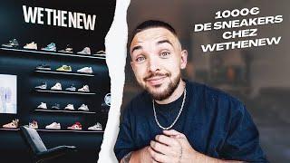 1000€ DE SNEAKERS CHEZ WETHENEW ?!