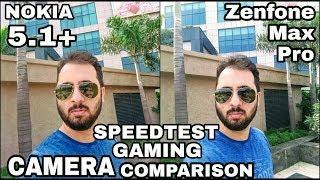 Nokia 5.1 Plus vs Asus Zenfone Max Pro Camera Comparison Nokia 5.1Plus Camera Review SpeedTest