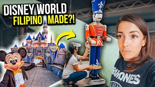 INSIDE a Local FILIPINO FACTORY that exports for DISNEY WORLD! All handmade!