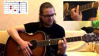 Звезда по имени Солнце разбор на гитаре