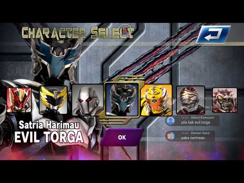 EVIL TORGA & BIMA-X FLAME MODE PERFECT VS BIMA-X STORM MODE
