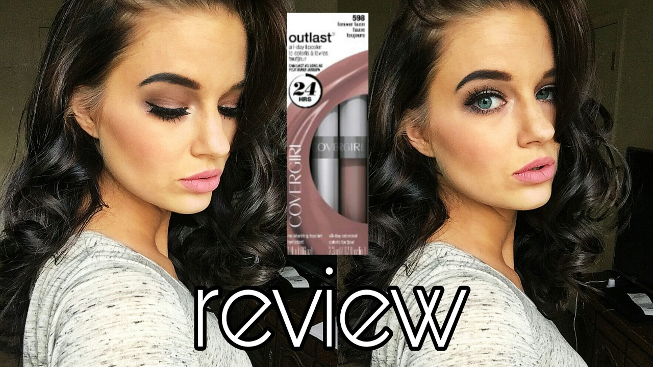 covergirl 24 hour lipstick review