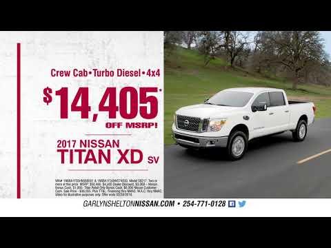 Garlyn Shelton Nissan - Feb 2018 Ad#1 - YouTube