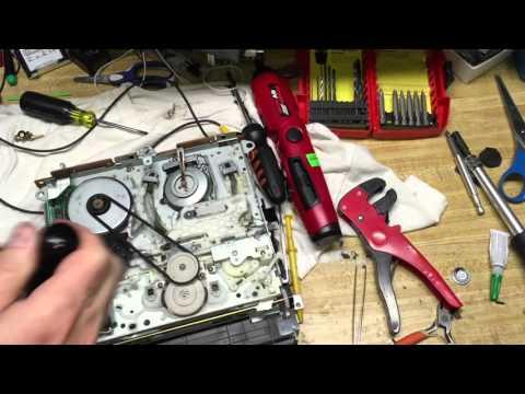 Mitsubishi HS-U560 VHS VCR Repair