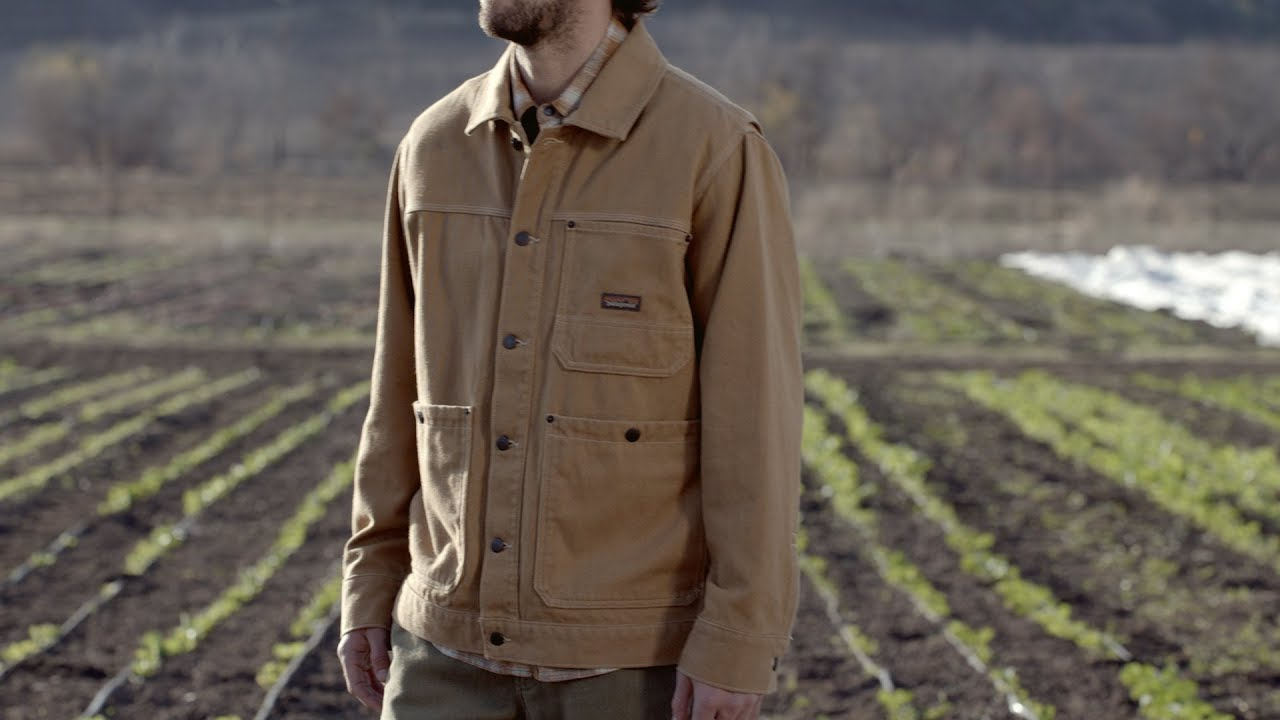 Patagonia Men S Iron Forge Hemp 174 Canvas Chore Coat Youtube