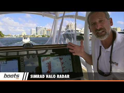Simrad Halo Radar: First Look Video