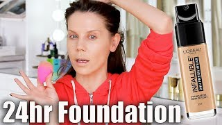 Download FULL DAY WEAR TEST | L'Oreal 24hr Foundation Mp3 and Videos