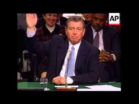 USA: ATTORNEY GENERAL-DESIGNATE JOHN ASHCROFT