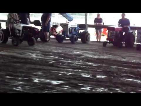 Lawn & Garden Tractor Pull Event Videos