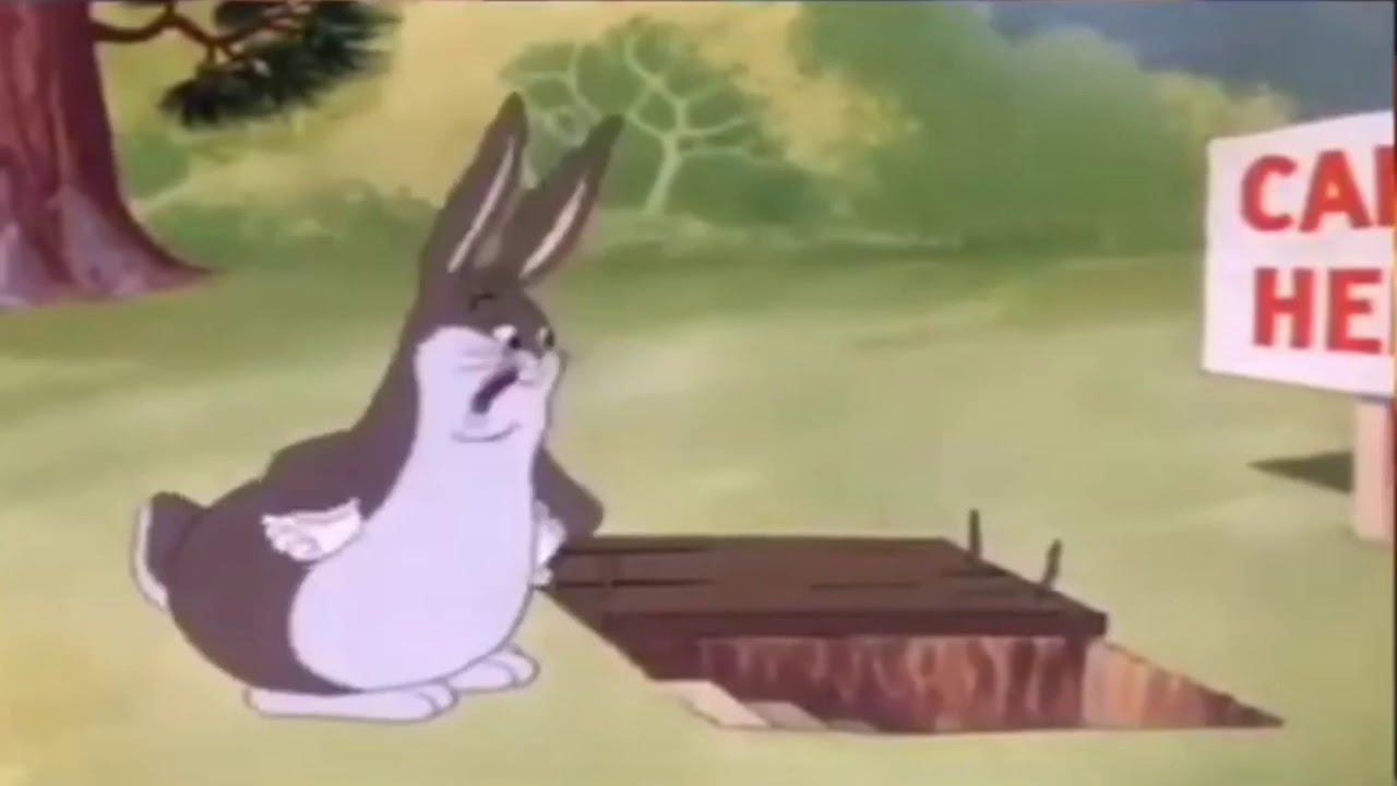 Big Chungus But There S A Lot Of People Screaming In The Background