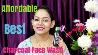 Aloe Veda Activated Charcoal Deep Pore Detox Face Wash Review In Hindi ll Best Chorcoal Face Wash