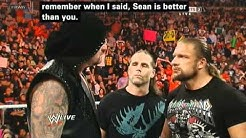 Wwe Raw Undertaker says shawn is better