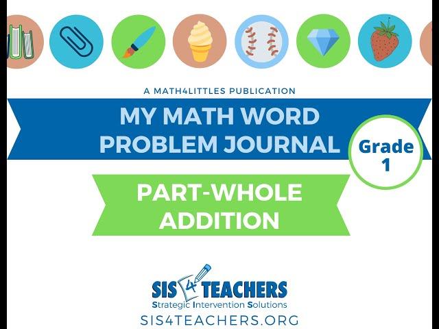 1st Grade Problem-Solving: Part Whole Addition
