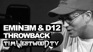 Eminem freestyle never heard before! with D12 Throwback 2004 - Westwood thumbnail