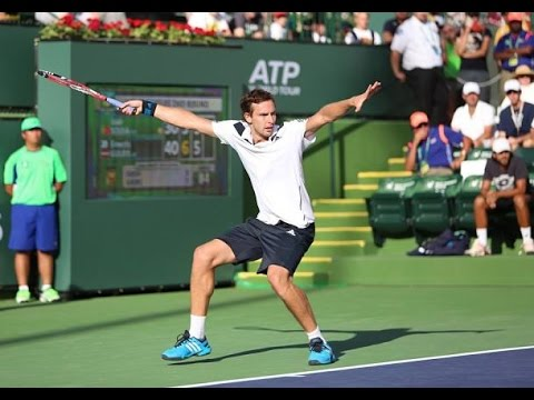 Ernests Gulbis Forehand Comparison: 2008 vs 2015