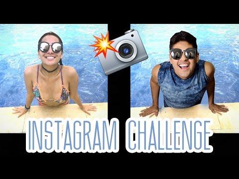 INSTAGRAM CHALLENGE - Imitamos Nuestras Fotos   Alejo&Mafe