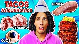 Probamos los tacos más asquerosos de México. *¿Quién fue el primero en vomitar?* 🤢🤮
