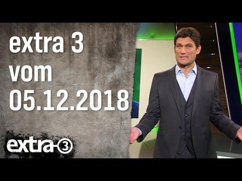 Extra 3 vom 05.12.2018 | extra 3 | NDR