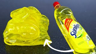 DISH SOAP SLIME How to make Slime with Dish Soap without Slime Glue! Slime making at home