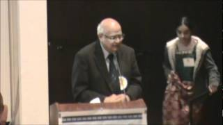 Velcheru - 3rd Internation Telugu Literary Conference Houston TX March 10th 2012.wmv