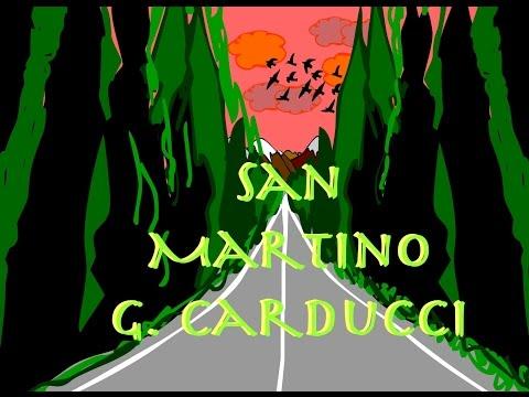 San Martino - Giosuè Carducci - Poesia