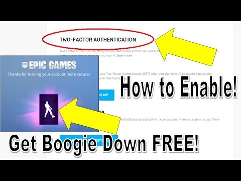 How to Enable Two Factor Authentication for your Fortnite ...