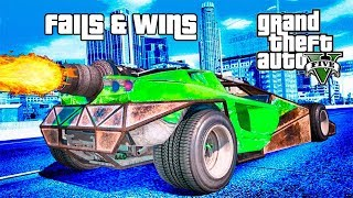 GTA 5 FAILS & WINS #10 (Best GTA V Funny Moments Compilation)