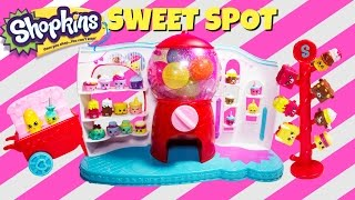 Shopkins Season 4 Sweet Spot Gumball Machine Playset with 2 Exclusives!