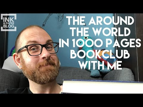 Announcing My Around the World in 1000 Pages Bookclub