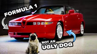 The Alfa Romeo SZ is a monstrosity with Formula 1 DNA  Revelations with Jason Cammisa  Ep. 14