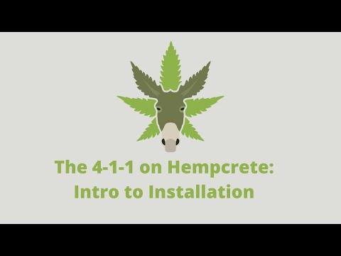 The 4-1-1 on Hempcrete: Intro to Installation