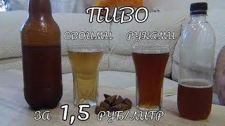 Пиво своими руками за 1,5 рубля - 1 литр. Как сварить пиво в домашних условиях. Обзор и дегустация
