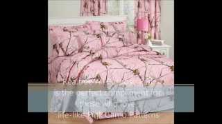Realtree Pink Camo Bedding